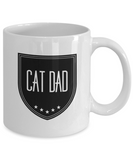 Cat Dad Mug - Funny Father's Day Cat Dad Coffee Mug for Cat Lovers  - Great Novelty Gift For Cat Lover - Mug Cat Dad - Cat Dad Cup For Birthday