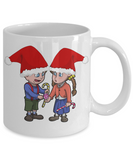 Hansel and Gretel Grimm Fairy Tale XMas Mug For Cocoa - Holiday 2016 Gift For Kids, Coffee Mug, Gearbubble, FamilyTrophy.com - FamilyTrophy.com