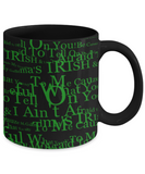 Irish Grandma Coffee Mug St. Patrick's Day Gifts For Her Him St Patrick Day Black Ceramic Cup For Tea, Coffee & Candy, Beer, Whiskey, Coffee Mug, Gearbubble, FamilyTrophy.com - FamilyTrophy.com