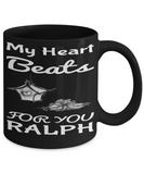 Personalization Gift Husband Mug Valentines Day 2017 2018 Couple Cup For Him Chocolate Jar, Coffee Mug, Gearbubble, FamilyTrophy.com - FamilyTrophy.com