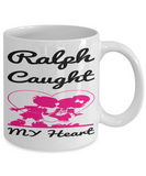 Personalized Name Gift Boyfriend Mug Valentines Day 2017 2018 Couple Cup Chocolate Jar, Coffee Mug, Gearbubble, FamilyTrophy.com - FamilyTrophy.com