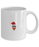Beard Santa Cowboy Christmas Mug - Best Funny X-Mas Holiday Gift - 11OZ Coffee Mug - Perfect for Holidays, Birthday, Men, Women, Gift for Him & Her - Funny Inspirational Humor Cup for Bearded Guys, Coffee Mug, Gearbubble, FamilyTrophy.com - FamilyTrophy.com