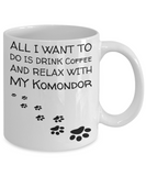 Coffee Play Komondor Mug - Funny Sayings Quotes Cup for Dog Lovers - Perfect Holiday 2016 Gift, Coffee Mug, Gearbubble, FamilyTrophy.com - FamilyTrophy.com