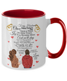 Fathers Day 2020 To My Husband Once Upon A Time Mug From Wife - Great Gift For That Special Hubby - Beautiful 11oz Two Tone Love Message Cup For Him