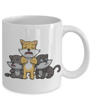 Three little kittens have lost their mittens x-mas 2016 kid holidays mug, Coffee Mug, Gearbubble, FamilyTrophy.com - FamilyTrophy.com