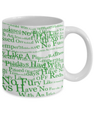 Irish Temper Coffee Mug St. Patrick's Day Gifts For Him Her White Ceramic Cup For Tea, Cocoa, Beer, Whiskey, Coffee Mug, Gearbubble, FamilyTrophy.com - FamilyTrophy.com