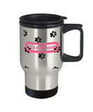 *Attention Cat Moms* Turn your Travel Mug into a Piece of Purrrfect Cat Mom Art! Hint: Perfect Travel Mug Gift For Cat Owners, Travel Mug, Gearbubble, FamilyTrophy.com - FamilyTrophy.com