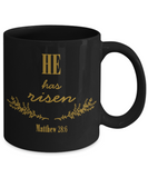 Matthew Bible Verse Catholic Mugs Coffee Mug Art Christianity Coffee Cup Religious Art Print Artsy Jesus Christ Decorative Pencil Holder Black Ceramic 11 oz pba Free Dishwaher Safe Easter 2017 2018, Coffee Mug, Gearbubble, FamilyTrophy.com - FamilyTrophy.com