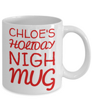 Holiday Christmas Mug With Funny Saying & Inspiration Quote - X-mas Surprise For Her, Him, Mom, Dad, Grandma, Grandpa, Sister, Brother, Girlfriend, Boyfriend - Cup for Cocoa, Coffee, Tea, Cookies & Ginger Bread - First Name Personalized Xmas Gift, Coffee Mug, Gearbubble, FamilyTrophy.com - FamilyTrophy.com