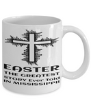 Motivational Spirituality Catholic Cross Mugs Coffee Mug Christianity Coffee Cup Religious Art Print Artsy Jesus Christ Decorative Pencil Holder White Ceramic 11 oz pba Free Dishwaher Safe 2017 2018 Easter Story Mug Mississippi, Coffee Mug, Gearbubble, FamilyTrophy.com - FamilyTrophy.com