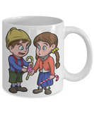 Hansel and Gretel Grimm Fairy Tale X-Mas Mug For Cocoal - Christmas 2016 Gift For Kids, Coffee Mug, Gearbubble, FamilyTrophy.com - FamilyTrophy.com