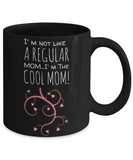 Holiday Mother's Day 2017 Morning Coffee Mug - Funny Sayings & Quotes Mom Gift for Her - Hot Cocoa, Milk, Cookies, Candy & Pencil Cup for Women & Mothers, Coffee Mug, Gearbubble, FamilyTrophy.com - FamilyTrophy.com