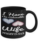 Wife Mug V Day 2017 2018 Couple Cup Valentines Cookies Candy Chocolate Jar, Coffee Mug, Gearbubble, FamilyTrophy.com - FamilyTrophy.com