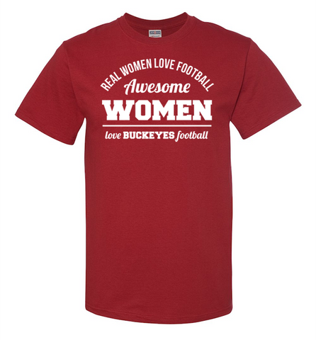 Awesome Buckeyes Woman, Apparel, Trexify, FamilyTrophy.com - FamilyTrophy.com