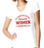 Awesome Buckeyes Women, Apparel, Trexify, FamilyTrophy.com - FamilyTrophy.com