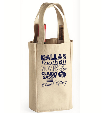 Sassy Dallas Women Wine Bag, Wine Bag, Trexify, FamilyTrophy.com - FamilyTrophy.com