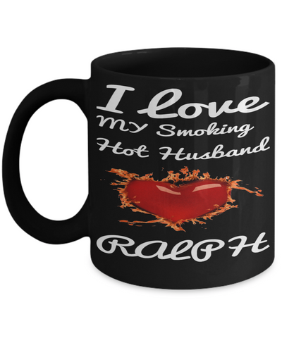 Hot Husband Mug For Vday 2017 2018 Funny Coffee Mug For Him Candy Chocolate, Coffee Mug, Gearbubble, FamilyTrophy.com - FamilyTrophy.com
