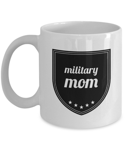 "Homecoming Gift - Military Mom - Proud Dad Of An Army Soldier - Soldier Mom Gifts - Soldier Gifts For Women - Soldier Mugs For Mom - Mother's Day Gifts From Son - White 11"" Ceramic Soldier Birthday Party Decorations Jar For Cookies & Candy - FamilyTrophy.com"