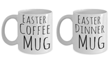 Easter Coffee Cup Breakfast Lunch Dinner - Funny Coffee Cup Bundle For Easter - Unique Easter Gift Idea Box For Her & Him, Coffee Mug, Gearbubble, FamilyTrophy.com - FamilyTrophy.com