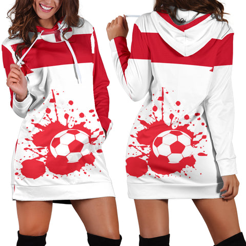 Women's Hoodie Dress England - FamilyTrophy.com