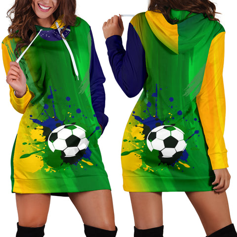 women's hoodie dress brazil - FamilyTrophy.com