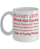 Holiday Christmas Mug With Funny Saying & Inspiration Quote - Xmas Gift For Her, Him, Mom, Dad, Grandma, Grandpa, Sister, Brother, Girlfriend, Boyfriend - Cup for Cocoa, Coffee, Tea, Cookies & Ginger Bread, Coffee Mug, Gearbubble, FamilyTrophy.com - FamilyTrophy.com