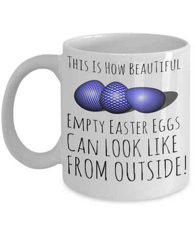 Easter Breakfast Lunch Evening Mug White Coffee Cup For Easter 2017 2018 Gifts For Family Grandparent Grandma Granddad Wive Husband Couples Funny Sayings Holiday Tea Coffee Mugs Cups Beautiful Easter Eggs Hunt Jar, Coffee Mug, Gearbubble, FamilyTrophy.com - FamilyTrophy.com