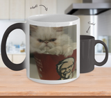 Persian Kitten Bucket Challenge Changing Mug Funny Cat Coffee Mug For Women Christmas 2017 2018 Gifts For Her, Coffee Mug, Gearbubble, FamilyTrophy.com - FamilyTrophy.com