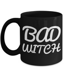Bad Witch Coffee Mug For Women Black Ceramic Holiday Gift For Her Halloween Gifts 2017 2018 Cookie Jar & Pen Holder, Coffee Mug, Gearbubble, FamilyTrophy.com - FamilyTrophy.com