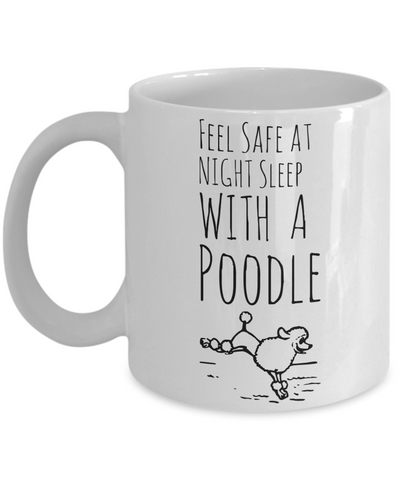 Poodle Puppy Mug for Dog Lovers - Cute Inspirational White 11 oz Gift for Dog Moms - Motivational Animal Gift For Her - Funny Hot Cocoa, Coffee, Tea Doggy Cup!, Coffee Mug, Gearbubble, FamilyTrophy.com - FamilyTrophy.com
