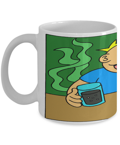Cute Christmas 2016 Fart Mug - XMas Humor For Boys & Girls - Stocking Stuffers Farty Humor - Funny 11oz Ceramic Cup For Cocoa, Milk & Ice Cream, Coffee Mug, Gearbubble, FamilyTrophy.com - FamilyTrophy.com