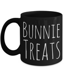 Bunny Treat Mug Surprise Coffee Tea Hot Cocoa Easter Chocolate Treat Jar Black Ceramic 11oz Microwave Safe Cup For Her Him Mom Dad Wife Husband Kids Grandparents, Coffee Mug, Gearbubble, FamilyTrophy.com - FamilyTrophy.com