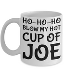 Vulgar Christmas Mug Gift - 11OZ Coffee Mug for Holidays, Birthday, Men, Women, Gift for Him & Her - Fun Inspirational Humor & Sarcasm Cup Of Joe Coffee Cup for Couples, Coffee Mug, Gearbubble, FamilyTrophy.com - FamilyTrophy.com