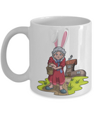 Fun Kid Easter Bunny Ears Grimm Story Mug Cup For Children White Bpa Free Chocolate Cookies Jar Coloring Marker Holder Drink Mugs For Cocoa Milk Juice Best Affordable Holiday Gift For Kids 2017 2018, Coffee Mug, Gearbubble, FamilyTrophy.com - FamilyTrophy.com