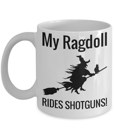 Scarty Shotgun Broom Witch Halloween Coffee Mug For Females Maine Coon Cat Holiday Gift Cocoa Mugs Tea Cup Holiday Gifts For Wife Husband, Women, Men Cookies & Chocolate Jar & Colorig Pencil Holder, Coffee Mug, Gearbubble, FamilyTrophy.com - FamilyTrophy.com