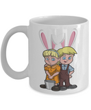 Fun Kid Easter Bunny Ears Grimm Story Mug Cup For Children White Bpa Free Chocolate Cookies Jar Coloring Marker Holder Drink Mugs For Cocoa Milk Juice Best Affordable Holiday Gift For Kids 2017 2018 Fun Easter Egg Jar For Children, Coffee Mug, Gearbubble, FamilyTrophy.com - FamilyTrophy.com