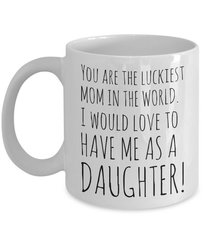 Mother's Day Morning Coffee Mug - Funny Sayings & Quotes Mom Gift for Her - Hot Cocoa, Milk, Cookies, Candy & Pencil Cup for Women & Mothers, Coffee Mug, Gearbubble, FamilyTrophy.com - FamilyTrophy.com