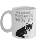 Fun Dog Love Mug - Funny Saying Quote Gift for Her & Him - Perfect Gift for Kids, Parents, Mom, Dad, Grandparents - Best Morning & Night Cup for Cocoa!, Coffee Mug, Gearbubble, FamilyTrophy.com - FamilyTrophy.com