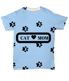 *Attention Cat Moms* Turn your Tee into a Piece of Purrrfect Cat Mom Art!, All-Over Print, Gearbubble, FamilyTrophy.com - FamilyTrophy.com
