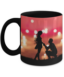 Wedding Proposal Mug For Future Bride - Color Changing Magic Mug For Fiancée & Soon To Be Bride From Future Husband