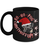 Ho Ho Christmas 2016 Pug Mug - Cartoon Mug for Dog Lover - Fun Holiday Gift For Morning Coffee, Coffee Mug, Gearbubble, FamilyTrophy.com - FamilyTrophy.com