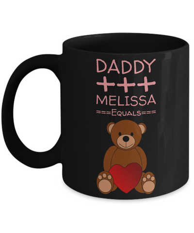 Valentines Teddy Bear Mug with Message - Valentines Gift for Kids - Valentine Day Chocolate Cup Gift - Pencil Holder & Candy Jar for Vday 2017, Coffee Mug, Gearbubble, FamilyTrophy.com - FamilyTrophy.com