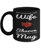 Personalized Couple Wife Mug Vday 2017 2018 Valentines Cup For Adults Candy Chocolate Jar, Coffee Mug, Gearbubble, FamilyTrophy.com - FamilyTrophy.com