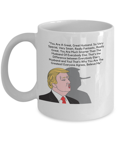 Great Husband Trump Mug