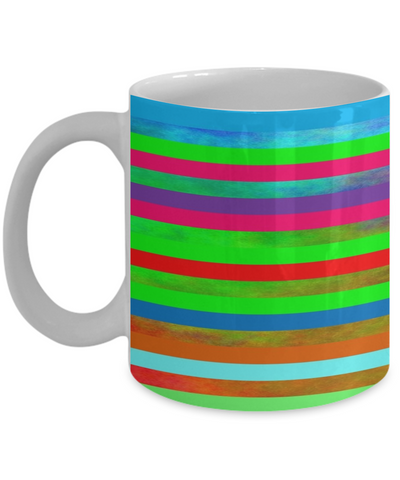 Chartreuse Mug - Chartreuse Green Rainbow Color Coffee Cup To Celebrate Summer 2020 - Chatreuse Design