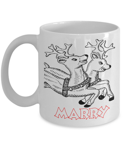 Rudolph The Red Nose Reindeer Personalized Name Mug Coloring - Christmas 2016 Coloring Mugs for Kid with Color Pencils for Kids - Best X-Mas Kids Gift - 11OZ Cocoa Mug - Holidays, Birthday, Boys, Girls Cup - Cute Fairy Tale Gifts, Coffee Mug, Gearbubble, FamilyTrophy.com - FamilyTrophy.com