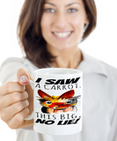 Vulgarity Cup Mug For Women Men Couples Wives Husbands Fun Sayings Easter Gifts 2017 2018 Humorous Surprise For Coffee, Tea, Cocoa, Chocolate Bunnies Vulgar Profane Carrot Bunny Holiday Mugs Saw Big Carrot Cups, Coffee Mug, Gearbubble, FamilyTrophy.com - FamilyTrophy.com
