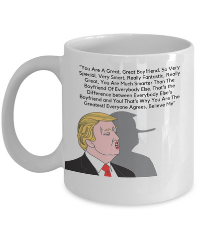Great Boyfriend Donald Trump Mug