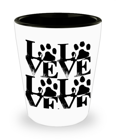 *Attention Cat Lovers* Turn Your Shot Glass into a Piece of Pawfect Cat Love Art! Hint: Purrfect Cat Lover Gifts, Shot Glass, Gearbubble, FamilyTrophy.com - FamilyTrophy.com