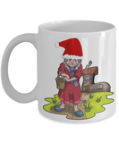 old woman who lived in a shoe fairy tale mug christmas 2016, Coffee Mug, Gearbubble, FamilyTrophy.com - FamilyTrophy.com